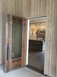 Wineries are happy to welcome thirsty guests.